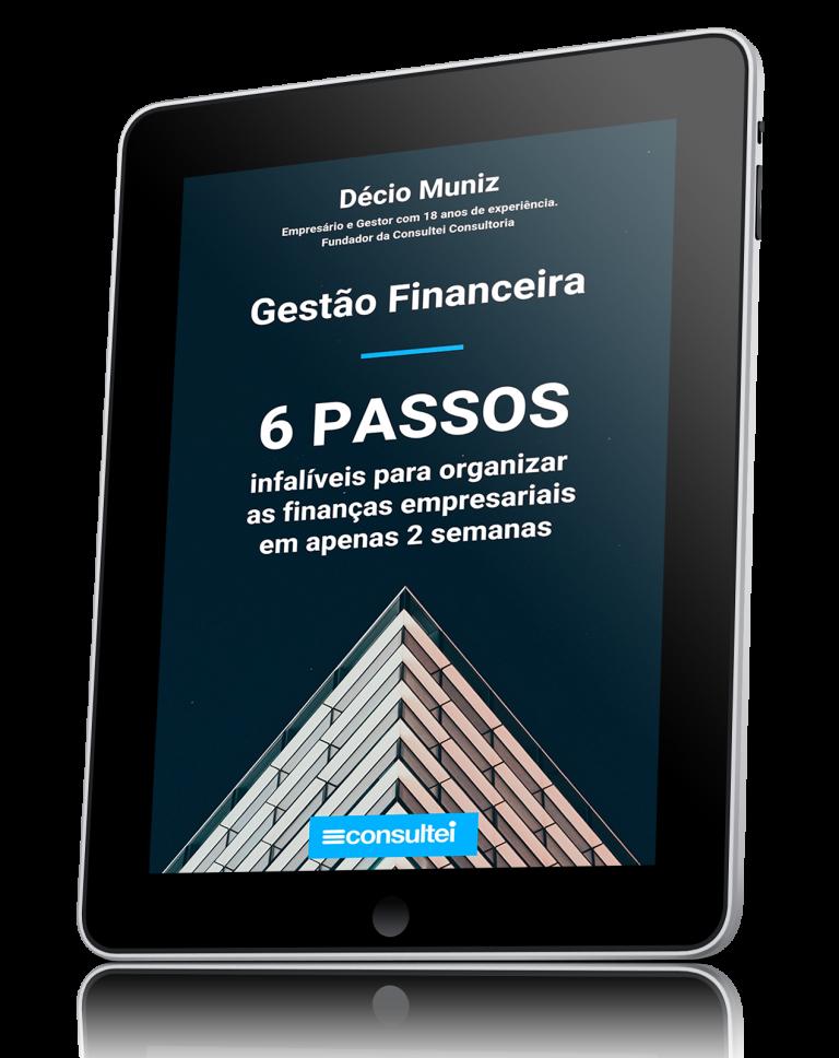 eBook 6 passos Infalíveis Gestão Financeira Consultei Consultoria